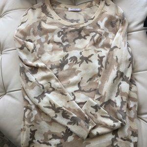 Equipment Femme Cashmere Camo Sweater
